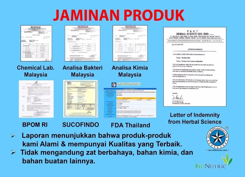 BPOM Biospray Bionutric