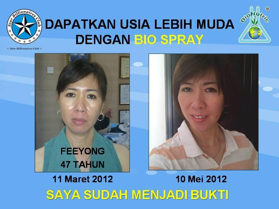 Testimoni Biospray Bionutric